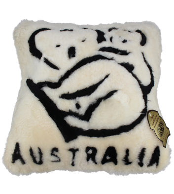 Sheepskin Koala Cushion