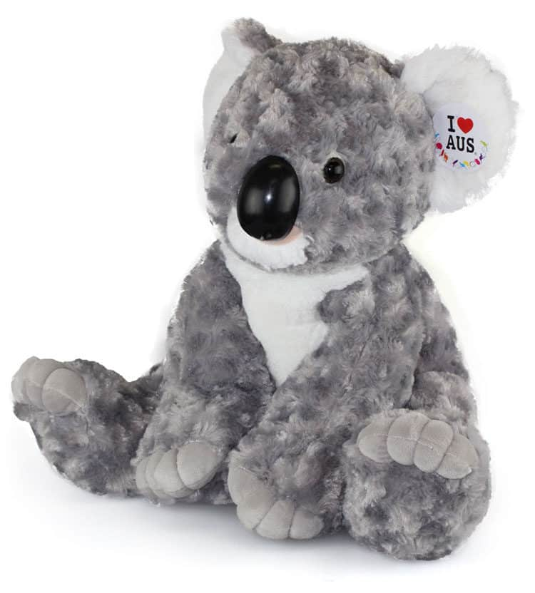 Grey Sitting Koala