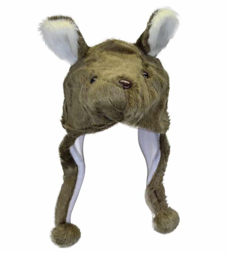 Kangaroo Plush Hat
