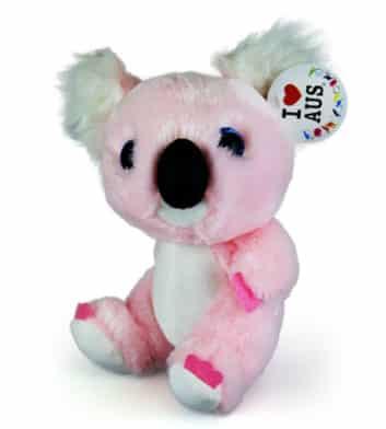 Pink Big Head Koala