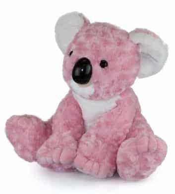 Pink Sitting Koala