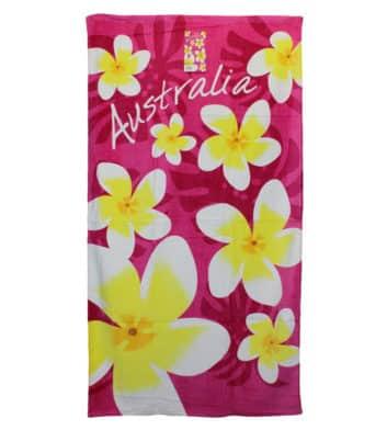 Frangipani Towel