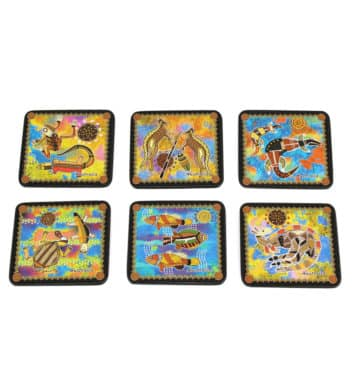 Colourful Coaster Set