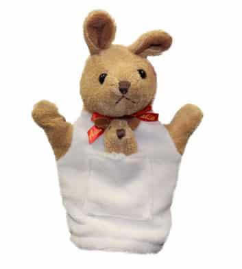 Kangaroo & Joey Hand Puppet