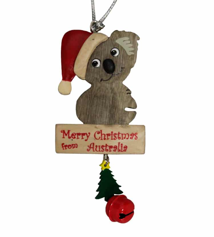 Koala Christmas Ornament | Australia The Gift | Souvenirs | T ...