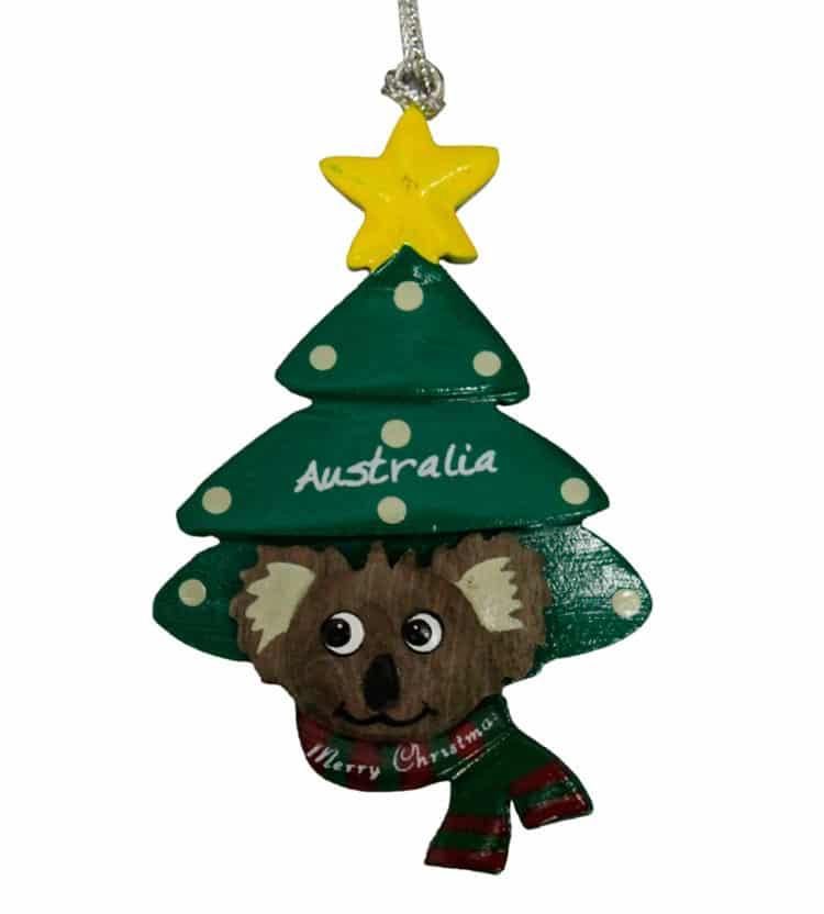 Koala Christmas Tree Ornament