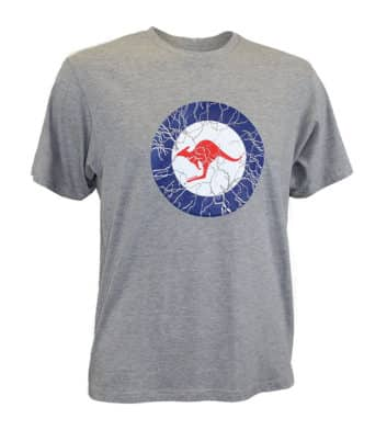 Grey Kangaroo T-Shirt