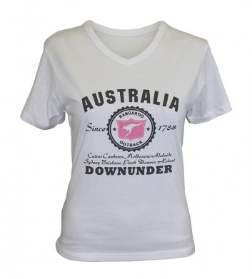 Ladies Australia Crop Top
