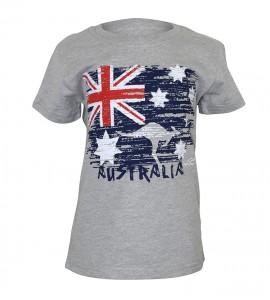 Australia Flag Kids T Shirt