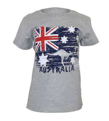 Australia Flag Kids T Shirt