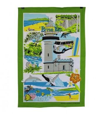 Byron Bay Tea Towel