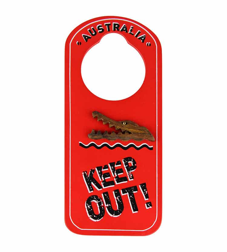 Crocodile Door Hanger