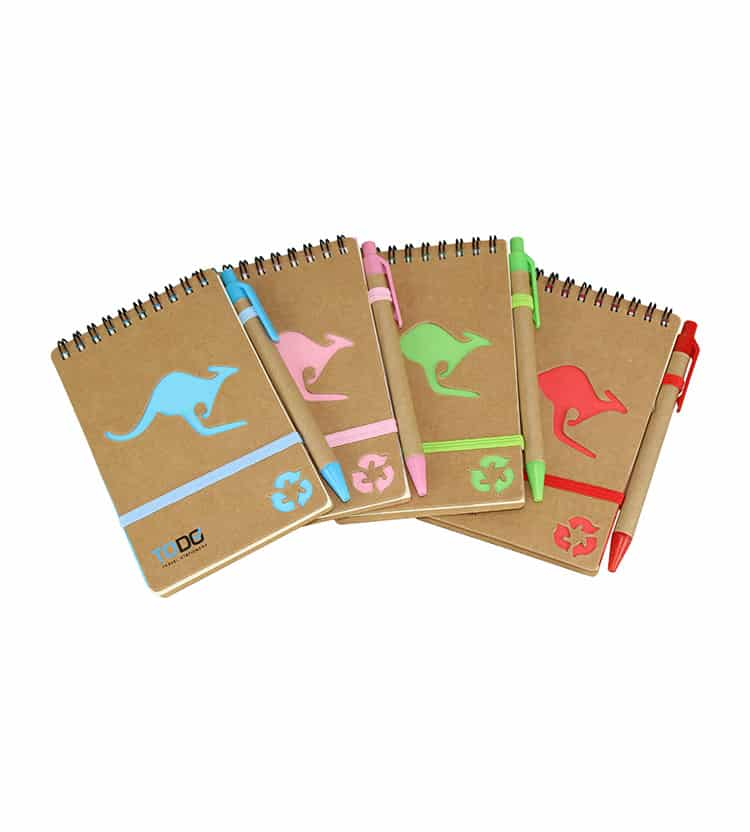 Kangaroo Notebook & Pen