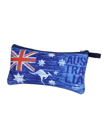 Australian flag pencil case