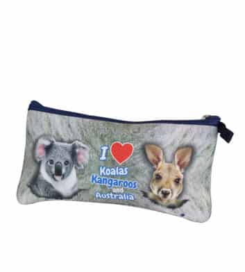 Kangaroo & Koala Pencil Case
