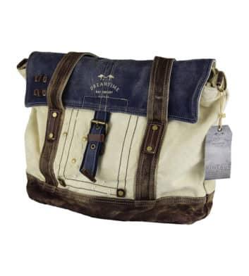 Dreamtime vintage canvas bag
