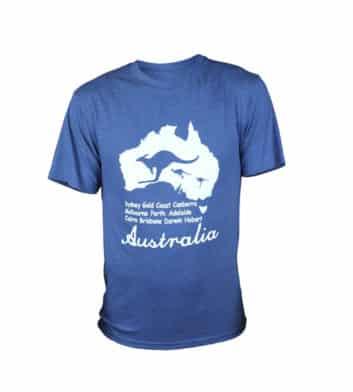 Australia Map T-Shirt