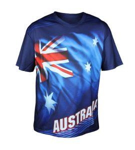 Australia Flag Sublimation T-Shirt
