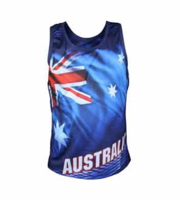 Australia Flag Singlet