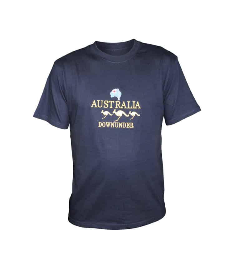 Kangaroo map t shirt australia the gift australian