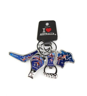 Australian Flag Keyrings