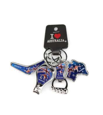 Australian Flag Keyrings