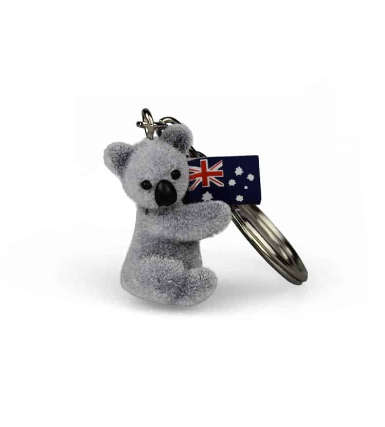 Soft Koala Keyring