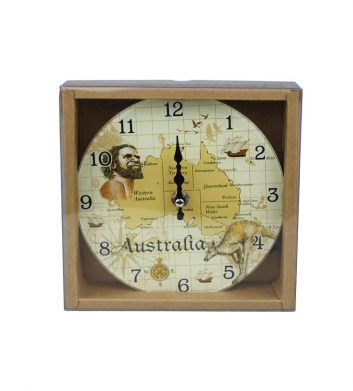 52420_Clock-Australia-Map-Gloss