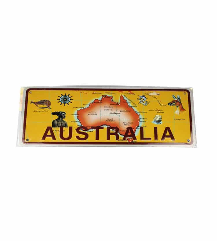 Aussie License Plate