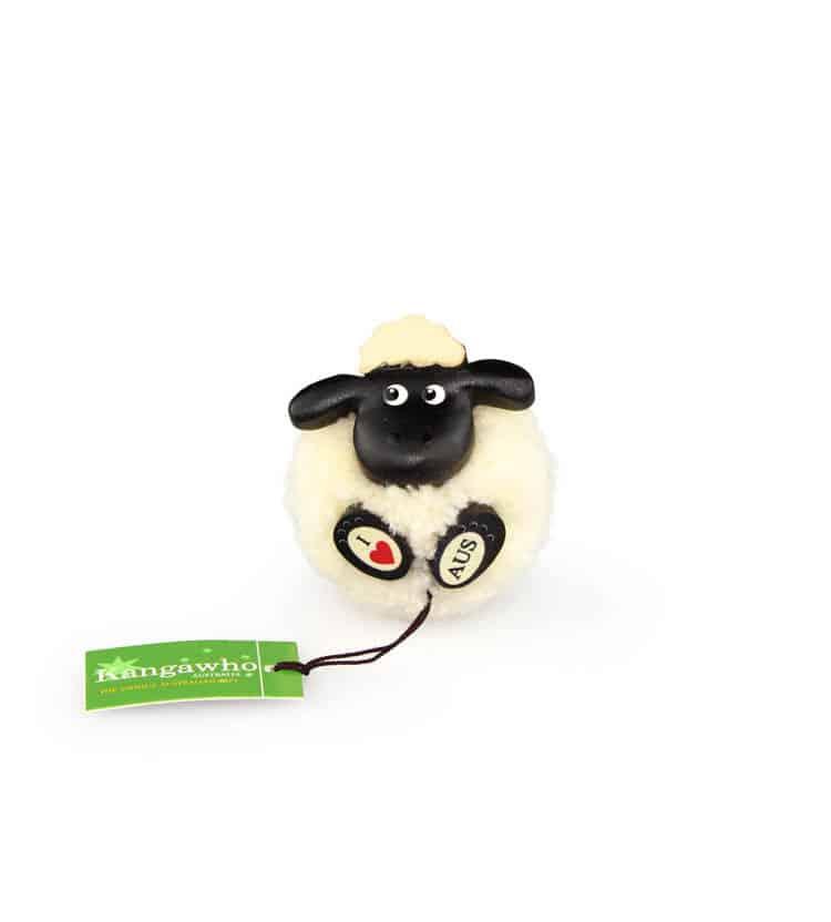 Pom Pom Sheep Magnet