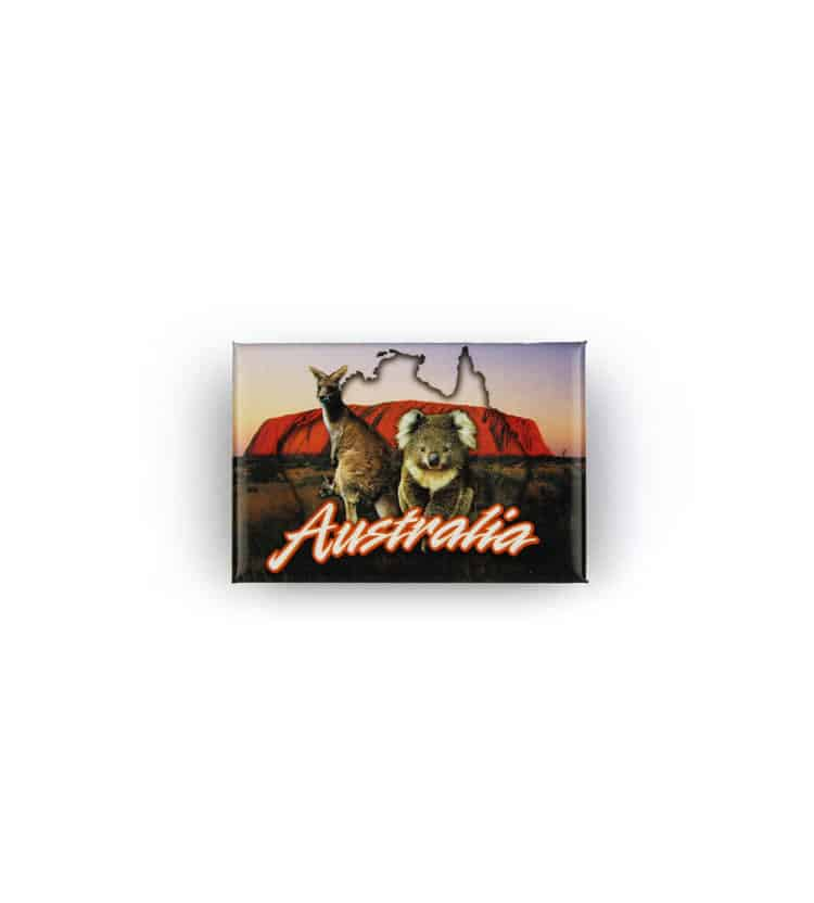 Uluru & Animals Gallery Magnet