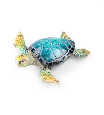 55016_Marble-Turtle-Ornament-Large