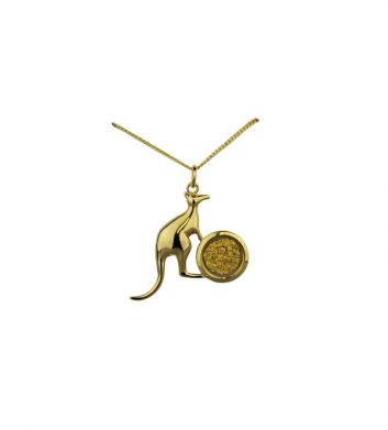 89118_Pendant-Gold-Leaf-Kangaroo