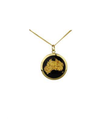 89128_Pendant-Gold-Leaf-Australia