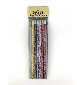 Souvenir Australia Pencils Pack of 6