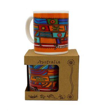 51228_Green__Orange_Boxed_Mug