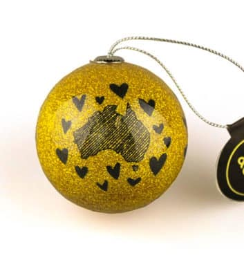 Australia Christmas Bauble