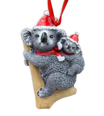 Koala Joey Christmas Decoration