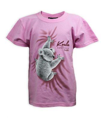 Climbing Koala Kids T-Shirt