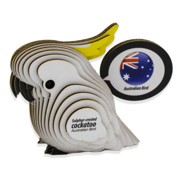DIY Cockatoo Model