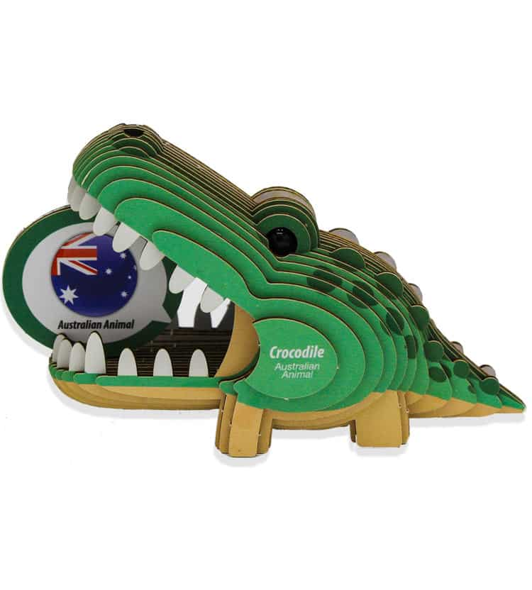DIY Crocodile Model
