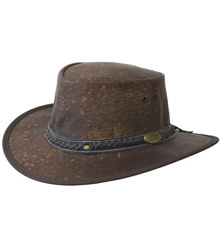 Jacaru Kangaroo Leather Hat