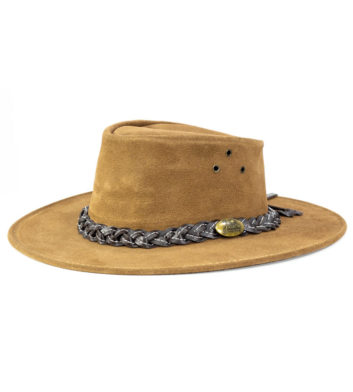 Wallaroo Suede Leather Hat - Jacaru