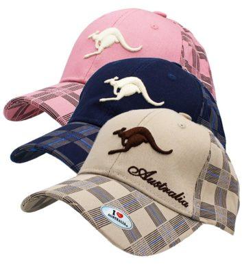 Australia Kangaroo Cap Beige