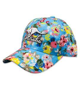 Floral Australia Cap