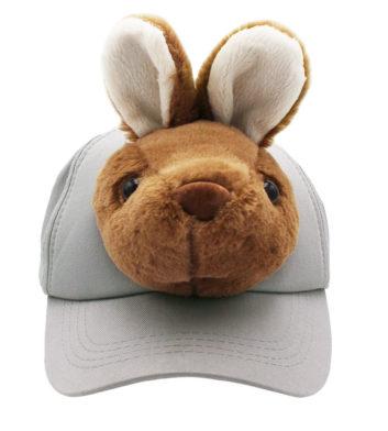 Plush Kangaroo Cap