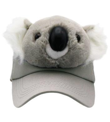 Plush Koala Cap