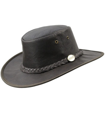 Barmah Kangaroo Leather Hat