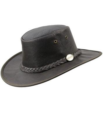 Barmah Kangaroo Leather Hat