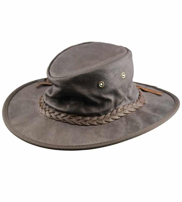 Authentic Australian Leather Hat